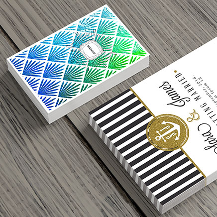 Inline Foil Cards from Envision Printshop